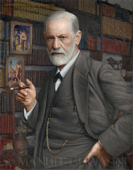 psicopsi-Sigmund-Freud-pintura