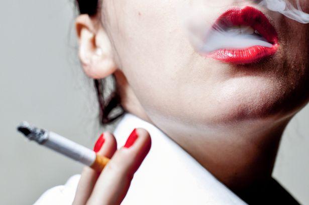 Woman-smoking-cigarette